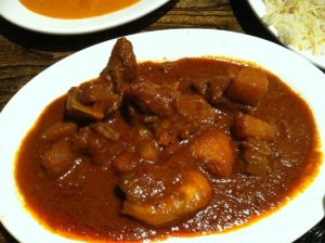 When prepared perfectly, lamb vindaloo is my favorite Indian dish and often is a 0 on the Z-Scale.